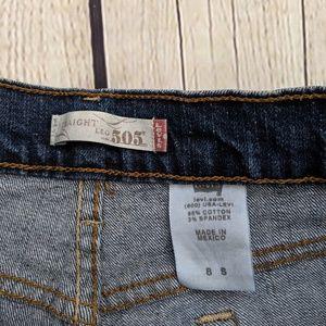 Levi's Shorts - Levi's 505 Straight Leg Blue Jean Shorts
